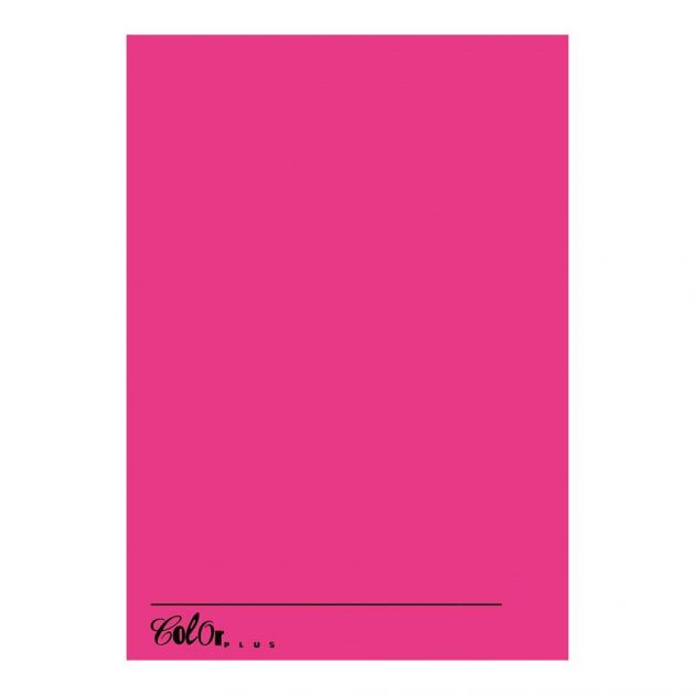 Papel Color Plus A4 120g Pink Cancun com 20 folhas