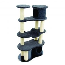 Arranhador para Gatos Building Cinza 7037 Carlu Pet House