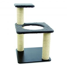 Arranhador para Gatos Ring Cinza 7039 Carlu Pet House