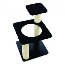 Arranhador para Gatos Ring Preto 7017 Carlu Pet House