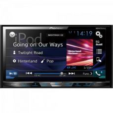 Auto Rádio DVD/USB/AM/FM/TV/BLUETOOTH AVH-X598TV Preto PIONEER