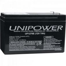 Bateria Selada 12V/7A UP1270 Unipower