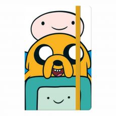 Caderneta Costurada Fitto sem Pauta 80 folhas Adventure Time Tilibra