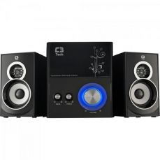 Caixa Multimídia 2.1 com Subwoofer 21W RMS SP-232U Preto C3Tech
