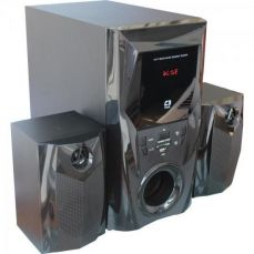 Caixa Multimídia 2.1 com Subwoofer 44W RMS SP-365 Preto C3Tech