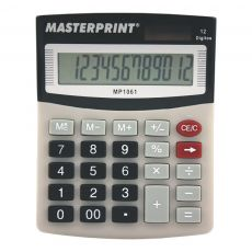 Calculadora de Mesa 12 Dígitos MP 1061 Masterprint