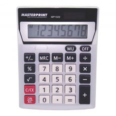 Calculadora de Mesa 8 Dígitos MP 1020 Masterprint
