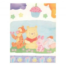 Cartolina Dupla face Decorada 50x65 Baby Pooh Muresco