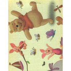 Cartolina Dupla face Decorada 50x65 Pooh Muresco