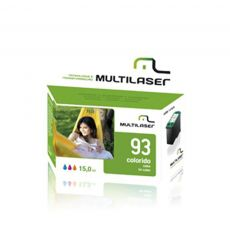 Compativel HP 93XL 17ML Multilaser Cartucho de impressora