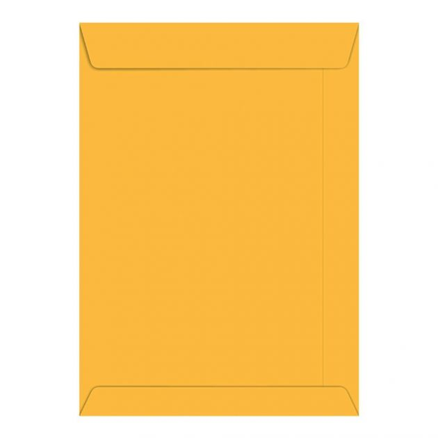 Envelope Saco Kraft Ouro 80g 229x324 com 250 envelopes Foroni