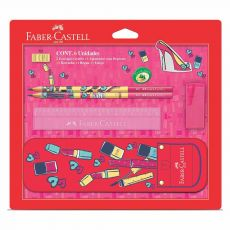 Kit Escolar It Girl Faber-Castell