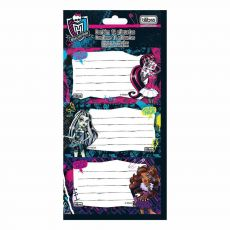 Etiqueta Adesiva Escolar Monster High Tilibra