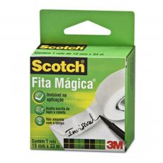 Fita Mágica Scotch® 19x33 3M