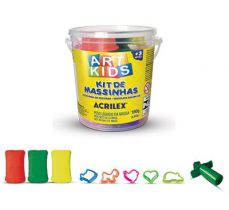 Kit de Massinhas Art Kids nº1 Acrilex