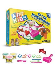 Kit de Massinhas Art Kids nº5 Acrilex