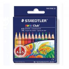 Kit Escolar Mini 12 Cores Noris Club Staedtler