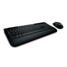 Kit Mouse e Teclado Wireless Desktop 2000 Preto Microsoft