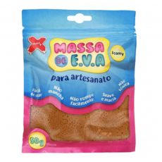 Massa de EVA Lisa 50g Marrom Make+