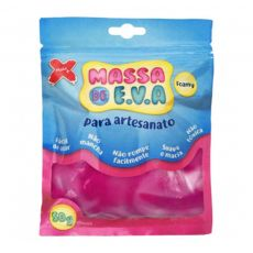 Massa de EVA Lisa 50g Pink Make+