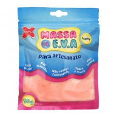 Massa de EVA Lisa 50g Salmão Make+