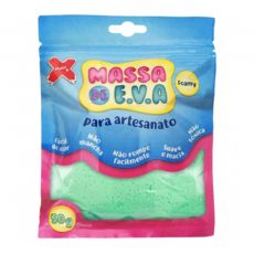 Massa de EVA Lisa 50g Verde Claro Make+