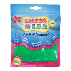 Massa de EVA Lisa 50g Laranja Make+
