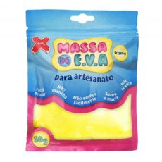 Massa de EVA Lisa 50g Amarela  Make+