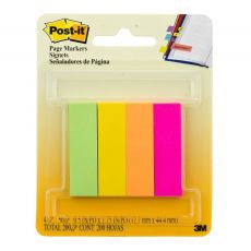 Post it Flags Papel 4 Cores 12,7x44 com 200 folhas 3M