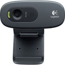 Webcam HD Logitech 720P C270 3mp Com microfone