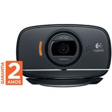 Webcam HD Logitech 720P C525 8mp 360º Com microfone